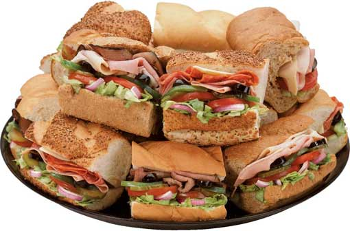 subway Sandwich Platter
